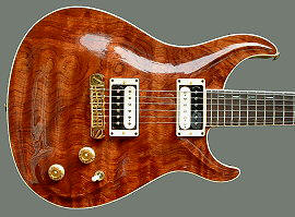 Hollow-body Standard, Bubinga top