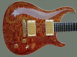 Standard Hollow-body, Lacewood top