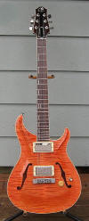 Hollow-body Standard, Watermelon finish - front