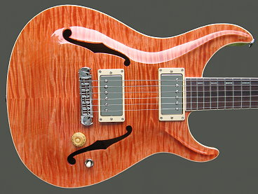 Standard Hollow-body - Water Melon finish